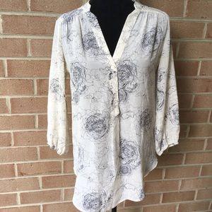Amour Vert for Stitch Fix silk blouse